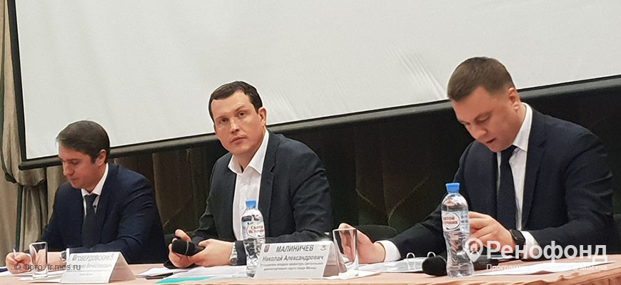 Встреча Дмитрия Башарова с жителями района Мещанский