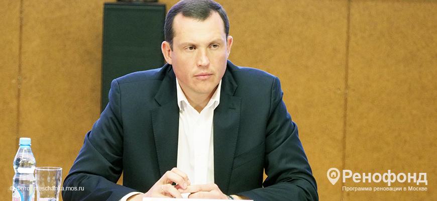 Префект ЦАО Владимир Говердовский встретился с жителями Басманного района