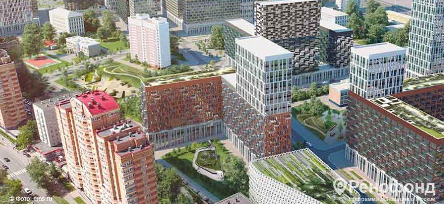 В Хорошево-Мневниках одобрили проект территории под застройку по реновации