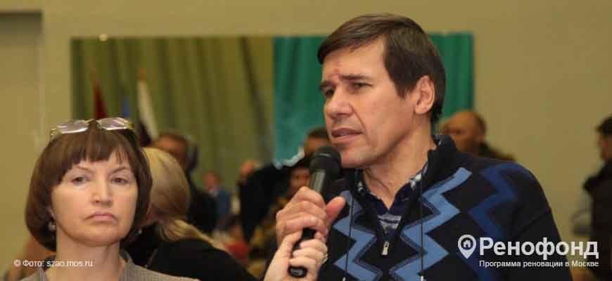 состоялась встреча префекта СЗАО Алексея Пашкова с жителями района Щукино
